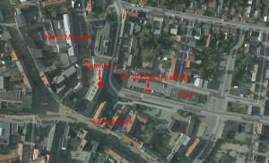 Kort satelit